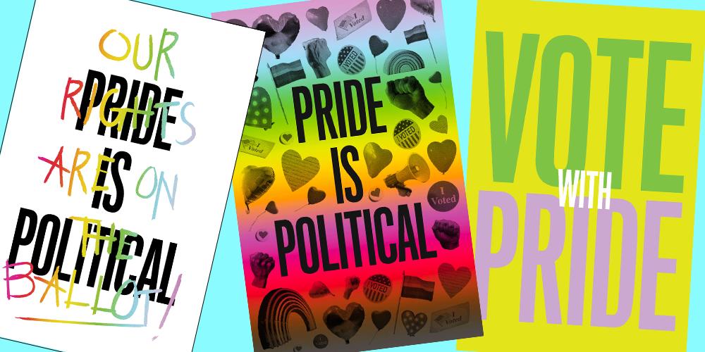 FREE Pride Posters...